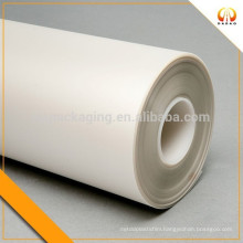 China milky white mylar polyester film for cable and motor winding insulation